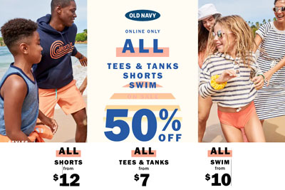 Old Navy Deal Drop